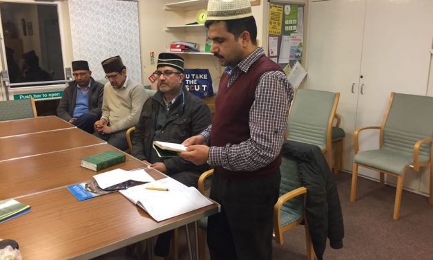 Tabligh Forum held by Midlands region  –  Burton Majlis on 2nd March 2018